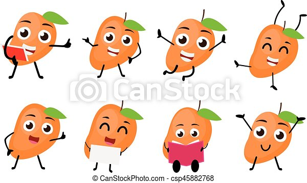 Mango Fruit Cartoon Images