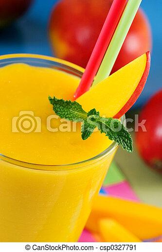 Mango smoothie - csp0327791