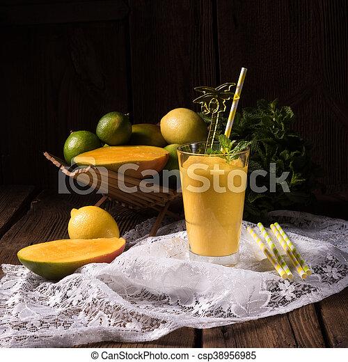 mango smoothie - csp38956985