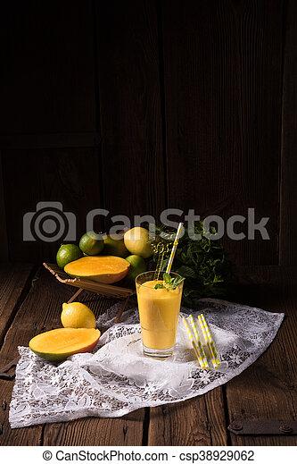 mango smoothie - csp38929062