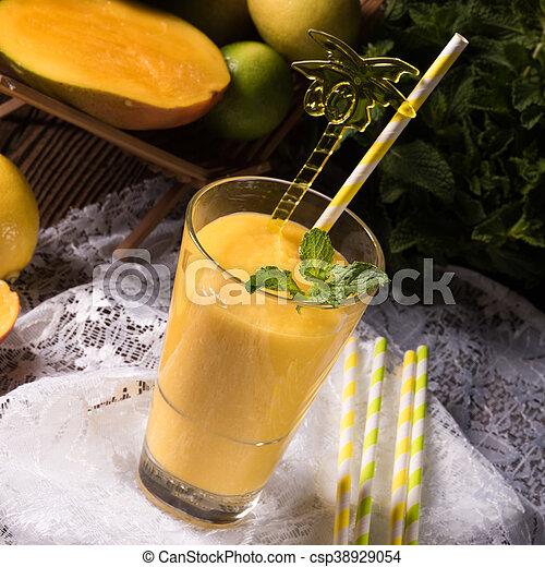 mango smoothie - csp38929054