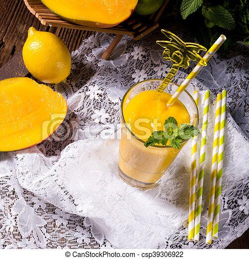 mango smoothie - csp39306922