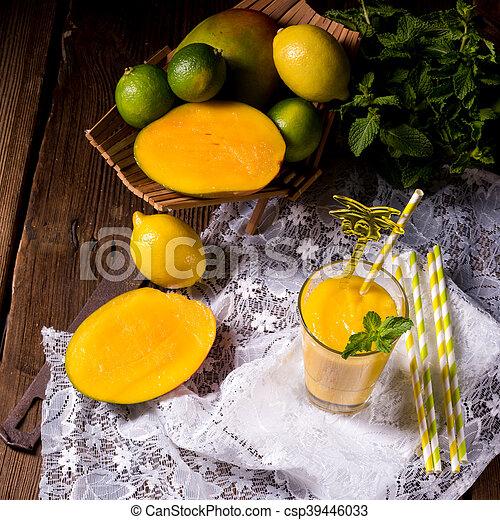 mango smoothie - csp39446033