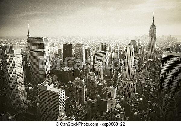 Manhattan, New York City - csp3868122