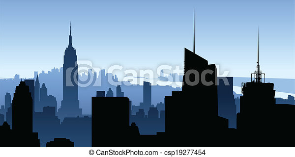 rascacielos de Manhattan - csp19277454