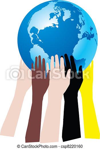mani sulla terra - csp8220160