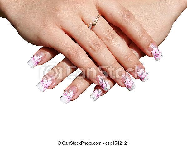 manicure - csp1542121