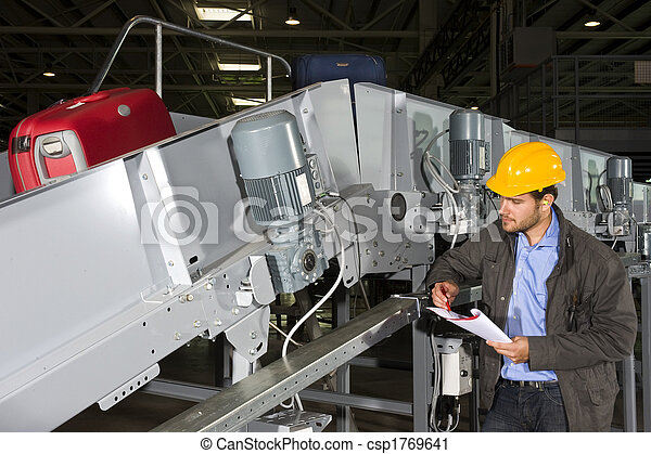 maniement, bagage, ingénieur - csp1769641