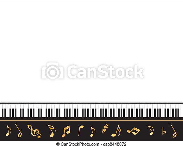 manifesto, cornice, musica, intrattenimento - csp8448072
