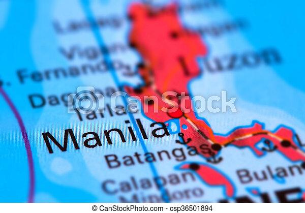 Manila Philippines World Map.Manila City On The Map Manila Capital City Of The Philippines On