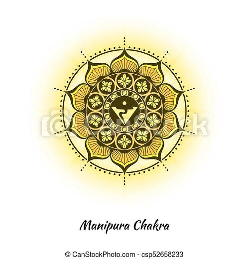 Manipura Chakra Design Manipura Chakra Symbol Used In Hinduism