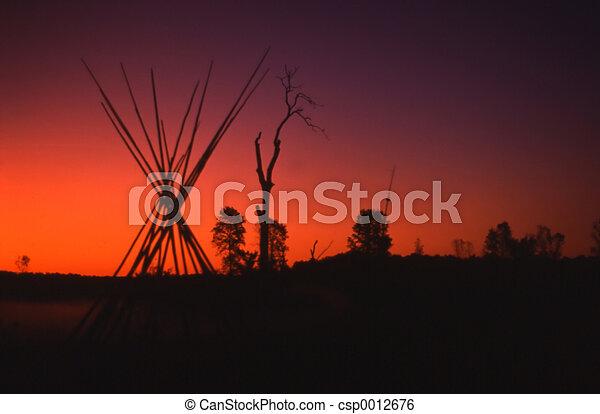 Manitoulin Sunset - csp0012676