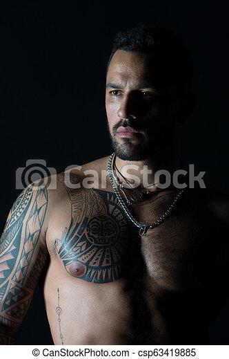 Vorlagen männer brust tattoo Beste Brust
