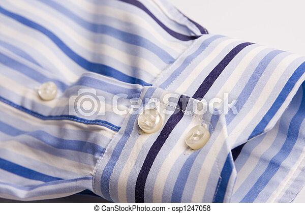 mannen, hemd - csp1247058