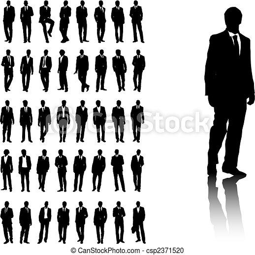 mannen, zakelijk - csp2371520