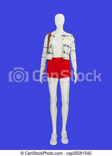 035a5f994f0124 mannequin., femme, plein-longueur