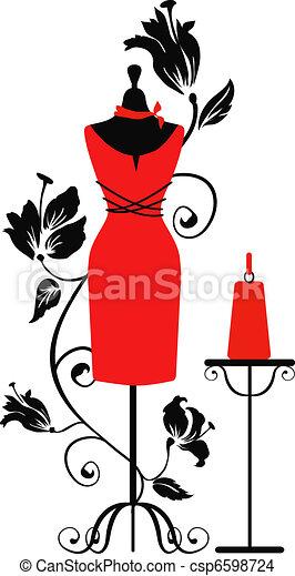 Mannequin for tailors  - csp6598724