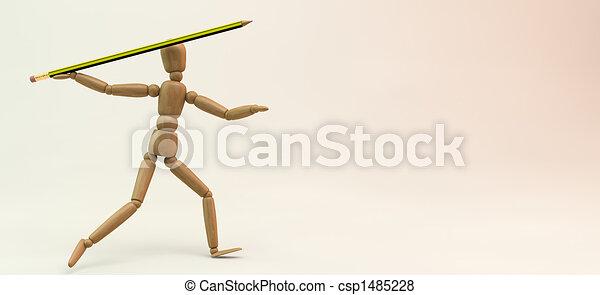 Mannequin Javelin - csp1485228
