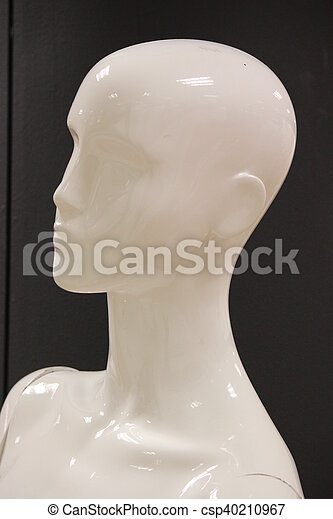 Mannequins and Models In Store. - csp40210967