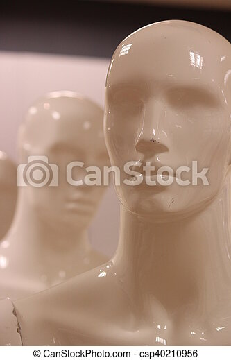 Mannequins and Models In Store. - csp40210956
