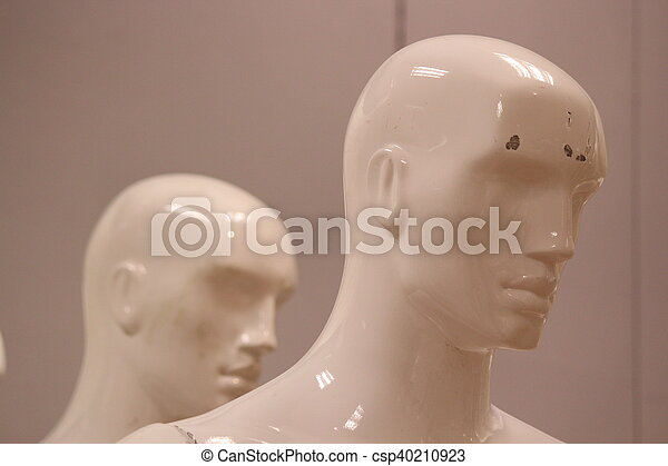 Mannequins and Models In Store. - csp40210923