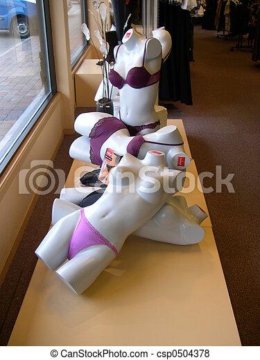 Mannequins in Shop - csp0504378