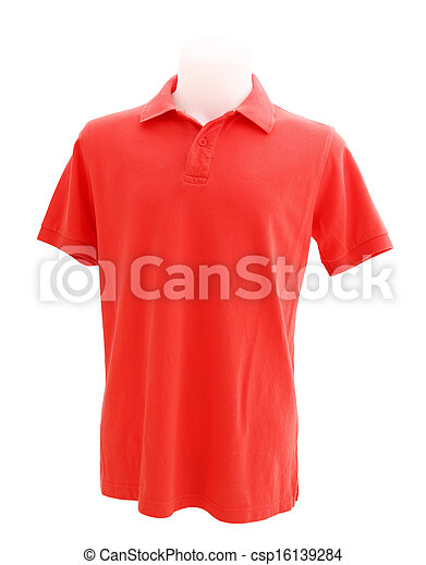 5f86a6ea4787 Mannequins t-shirt. Mannequin wears polo t-shirt isolated on white ...