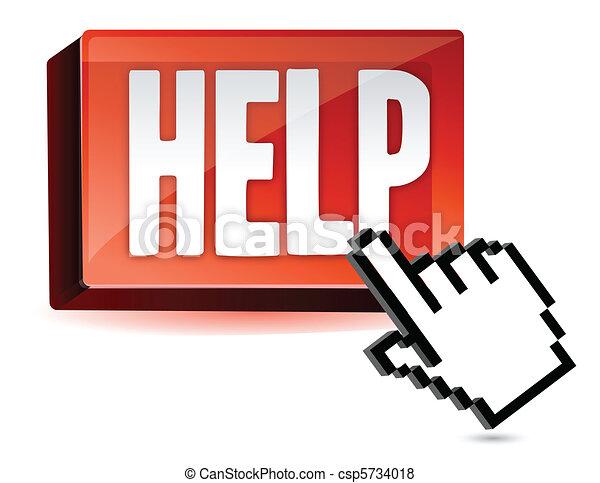 Ayuda a botonear y a la mano - csp5734018