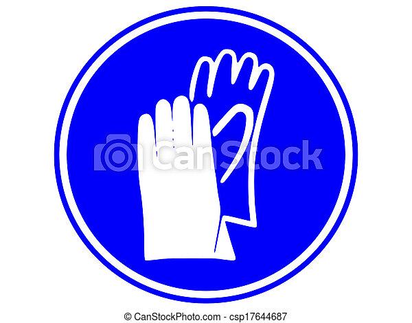 mano, essere, protezione, portato, dovere - csp17644687