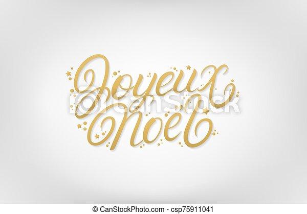 mano, letras, noel, escrito, 2020, joyeux - csp75911041