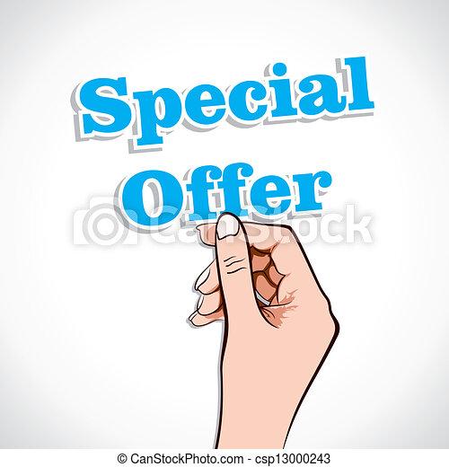Oferta especial en mano - csp13000243