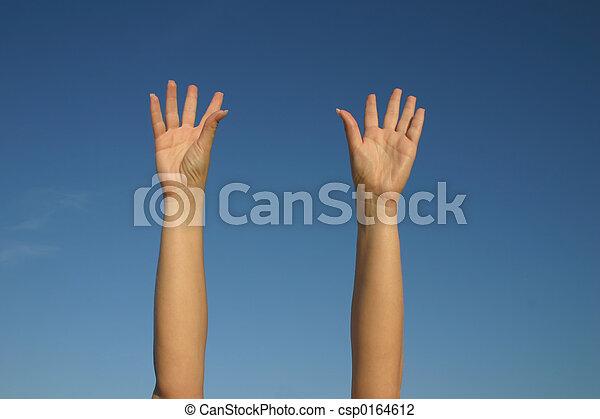 ¡Manos arriba! - csp0164612