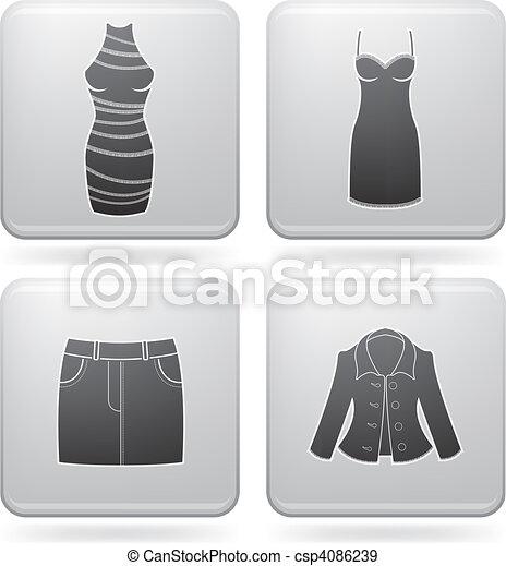 Man\'s Clothing - csp4086239