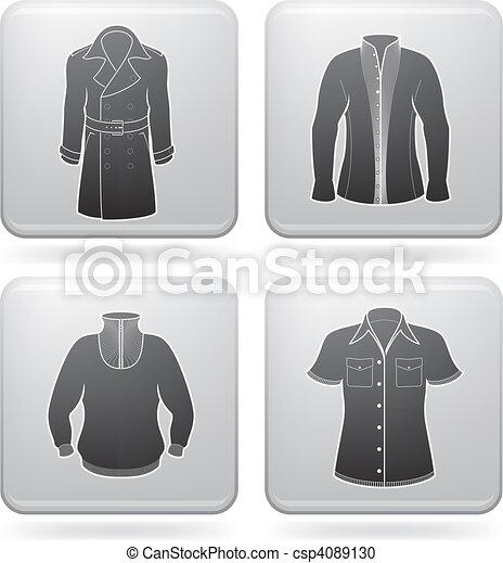 Man\'s Clothing - csp4089130
