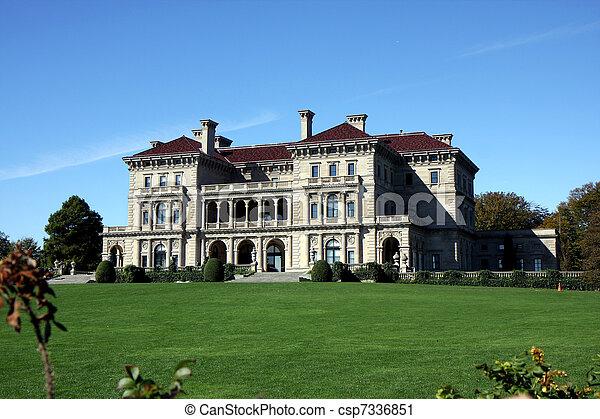 Mansion in Newport, Rhode Island - csp7336851