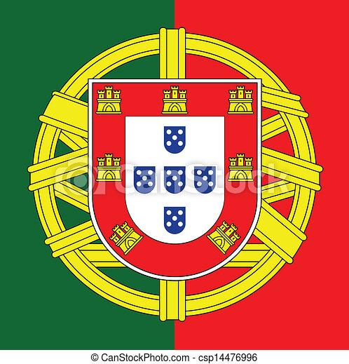 Portugals Wappen - csp14476996