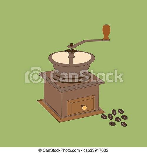Manual Coffee Grinder Mill - csp33917682
