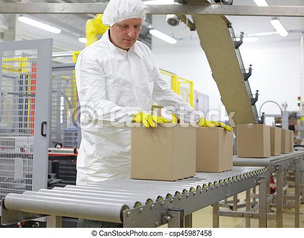Warehouse production uniform