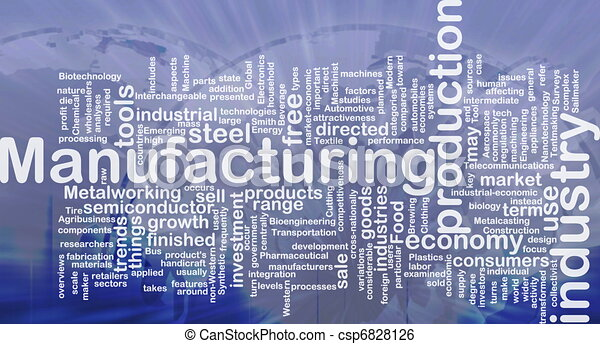 Manufacturing background concept - csp6828126