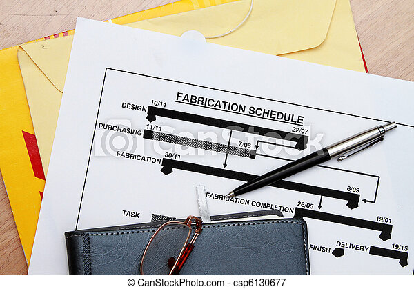 manufacturing schedule - csp6130677