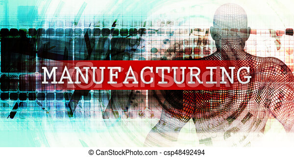 Manufacturing Sector - csp48492494