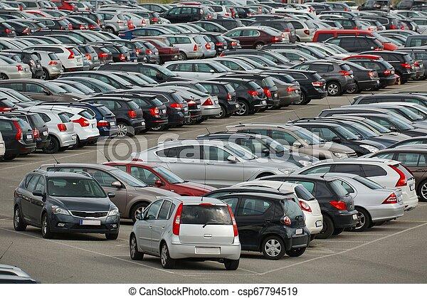Many Cars Parking - csp67794519