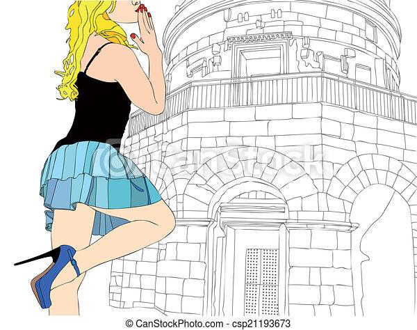 Many kisses from Ravenna - csp21193673