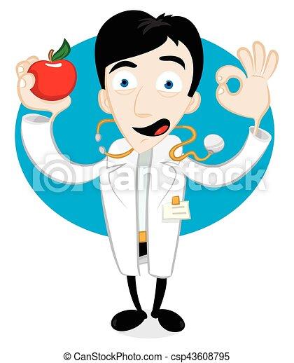 Una manzana al día - csp43608795