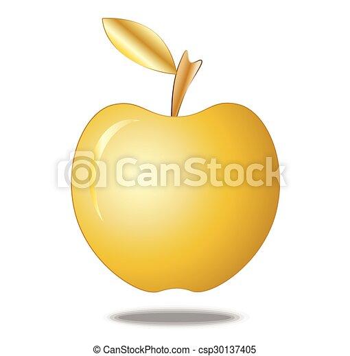 Oro de manzana - csp30137405