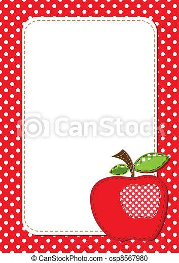 Antecedentes de manzana - csp8567980