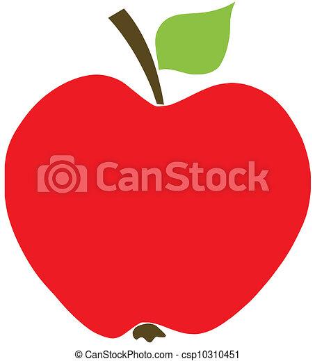 Manzana roja - csp10310451