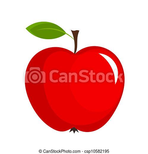 Manzana roja - csp10582195