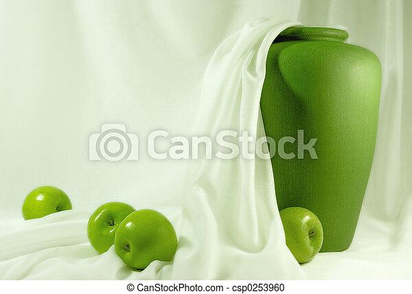 Manzanas verdes - csp0253960