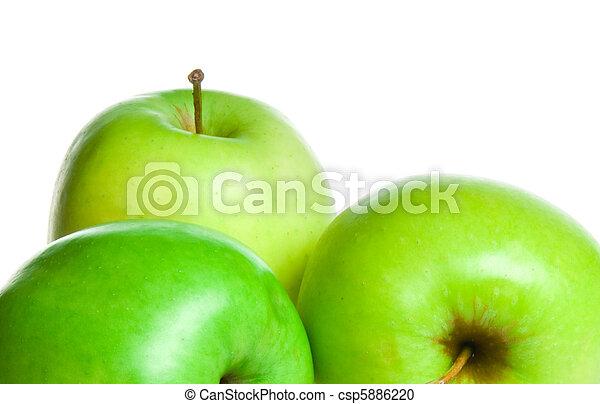 Manzanas verdes - csp5886220